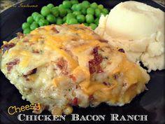Cheesy Chicken Bacon Ranch
