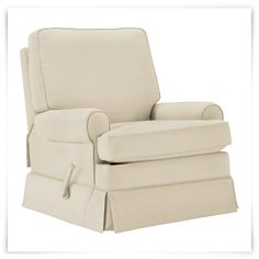 Found this great product at cityfurniture.com, for only $499.95.  Give your home a casual and comfortable look with the Levi recliner as you introduce soft cottons and linens into your living space. This shabby chic, inspired glider gives you permission to be relaxed in your own home.     Slip covers are dry clean only.