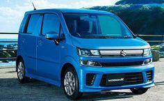 New Suzuki Wagon R front