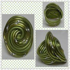 Aluminium Green Ring