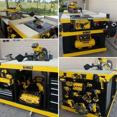 "I made the Ultimate mobile, cordless, heavy duty workbench... built from scratch! Hey @dewalttough this sure would look better if It had Dewalt tool boxes filled with Dewalt tools maybe even a XR Cordless Band Saw to go with it..Hint Hint. P.S Let's get rid of these Craftsman tool boxes!! ""Hook a brother up!"" #manshit #handmade #dewalttools #guaranteedtough #americanmade #biggestdewaltfan #dewalteverything #ultimatemanspace #workbench"