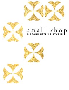 Small Shop - a brand styling studio -Shop talk blog....love everything about her blog style.  I especially like that it's classy, fun but very professional.
