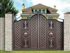 Manufacturer Shutter Doors And Gates India Home Gate Design, House Main Gates Design, Steel Gate Design, Front Gate Design, Main Door Design, House Front Design, Compound Wall Gate Design, Gypsum Ceiling Design, Front Gates