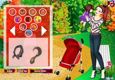 Chơi game thời trang mẹ và bé