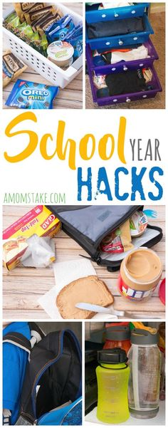 I love these shortcuts and hacks for getting ready and prepared for the school…