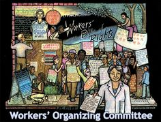 """""""Workers' Bill of Rights"""" - Poster by Ricardo Levins Morales. Click the image for more details."""