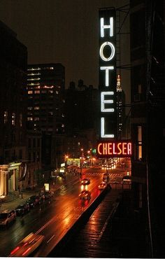 Chelsea Hotel                                                                                                Sincerely...L. Cohen