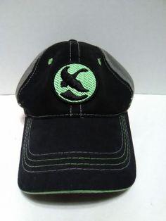 57afd73cbf6 Gander Mountain Tech Out Door Snapback Hat Green Logo Black Gray