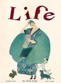 LifeMagazine cover, 25 October 1923 Rea Irvin