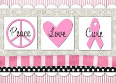 Breast Cancer Awareness card    7x5 Greeting Card  Template ID: 70025