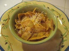 chicken taco soup with fritos