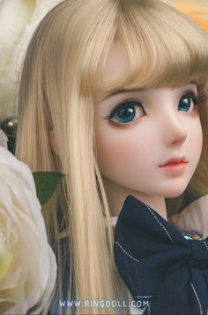 Genuine Porcelain China Made In Japan Beautiful Barbie Dolls, Pretty Dolls, Anime Dolls, Ooak Dolls, Enchanted Doll, Cute Baby Dolls, Kawaii Doll, Doll Painting, Smart Doll