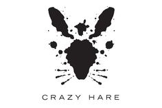 Crazy Hare Logo « Mattson Creative. they use crazy shapes to make a bunny