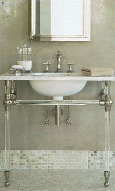 1000 images about washroom in style on pinterest restoration hardware bathroom storage and - Small spaces restoration hardware set ...