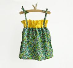 Girls top pattern and tutorial #sewing #kids fashion #tops