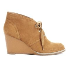 I have these in black! cute wedges