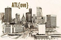 sometimes, always, never: atlanta bucket list, here we go...