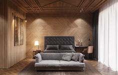 3D rendering of hotel rooms on Behance