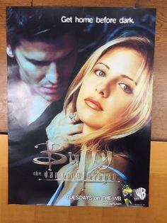 Buffy The vampire Slayer Tv Show Joss Whedon Original Poster 1998