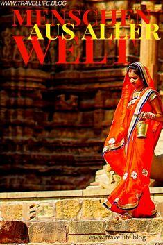 """ROUND-UP """"Menschen aus aller Welt"""" Du hast doch bestimmt einige Völker und verschiedene Menschen auf deinen Reisen kennengelernt. Erzähle uns deine Geschichte. Up, Sari, Getting To Know, People, History, World, Viajes, Saree, Saris"""