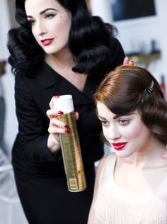 Dita can do my hair any day