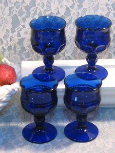 Kings crown glassware vintage 1940's