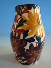 1111A1-098: Schramberg Jugendstil Vase Keramik