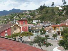Vilcabamba Ecuador   Vilcabamba (en Ecuador) en Loja...this downtown...pretty lazy and laid back..