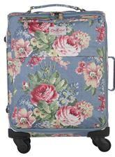 Cath Kidston hand luggage sized wheeled suitcase