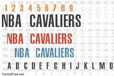 NBA Cavaliers font, aka Cleveland Cavaliers font is a fancy, old-school font designed by Eriq P. NBA Cavaliers font is free for both personel and commercial usages. Old School Fonts, Cavalier, Nba, Hs Sports, Knight