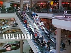 MALL MANIA 1990 time-lapse. A journey back in time to Los Angeles area shopping malls circa 1990. The film was shot with a 16 mm Bolex camera. Music by Bjorn Lynne.   From my movie archives http://www.joelfletcher.com/movie-collection.html