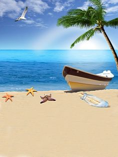 Tło fotograficzne Sea Beach Vinyl Backdrops For Photography Children Backgrounds Photo Studio Fond Photographie Summer Wallpaper, Beach Wallpaper, Beach Background, Background Images, Backdrop Background, Summer Backgrounds, Photo Backgrounds, Background For Photography, Photography Backdrops