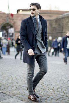 Os Homens Mais Elegantes da Pitti Uomo 91 - Canal Masculino