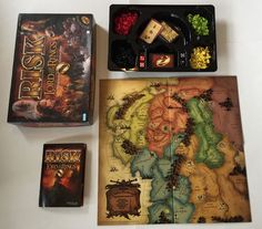 The Lord Of The Rings Risk Family Party Board Game Fantasy Tolkien Incomplete #ParkerBrothers