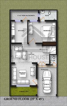 Simple House Plans, Best House Plans, Tiny House Plans, Modern House Plans, House Floor Plans, 2 Storey House Design, Bungalow House Design, Small House Design, Modern House Design