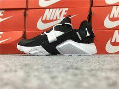51d1d5121506 Fashion Nike Air Huarache City Low Men s Running Sports Shoes Black   White  AH6804-002