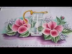 Painting Videos, Youtube, Barbie, Ideas, Glass Paint, How To Make Paint, Painting Tips, Calla Lilies, Manualidades
