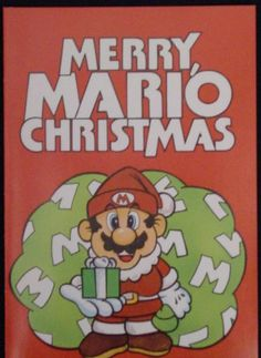 Supper Mario Broth - Various Mario holiday greeting cards. Super Mario Toys, Super Mario World, Holiday Greeting Cards, Christmas Cards, Christmas Windows, Christmas Time, Video Game Decor, Video Game Art, Mario And Luigi