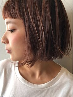 Bobbed Hairstyles With Fringe, Pretty Hairstyles, Bob Hairstyles, Short Hair Cuts For Women, Short Hairstyles For Women, Short Hair Styles, Hair Arrange, Queen Hair, Hair Color Dark