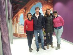 Recientemente tuvimos en nuestra tienda de Madrid en Paseo del Prado una visita muy especial: la de Cayetano Martínez de Irujo, presidente de la Asociación de Deportistas, y su pareja, la nadadora Melani Costa. ¡Un abrazo para ambos!