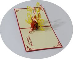 Tulip - 3D Pop Up Cards - Greeting Cards - Ovid Gifts