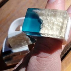 Will be uploading new rings listings soon, I have so many other resin things waiting for sanding and polishing :)