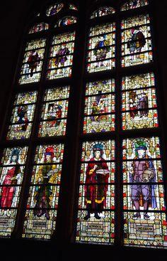 Glas in lood, Rijksmuseum  Amsterdam