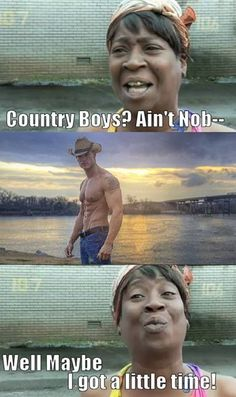 Country boys!