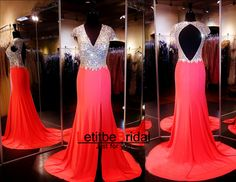 Custom Heavy Beaded Cap Sleeves V neck Open Back Red Prom Dresses, Long Prom Dress, Mermaid Prom Dress, Prom Dress 2016, Affordable Prom Dress, Junior Prom Dress,Formal Evening Dresses Gowns, Homecoming Graduation Cocktail Party Dresses, Holiday Dresses, Plus size