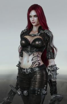 ArtStation - Katarina the sinister blade - League of Legends, Yoonjoo Park