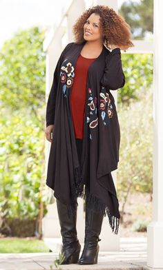 ENYA CARDIGAN / MiB Plus Size Fashion for Women / Fall Fashion