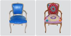 #chairs especially the blue one