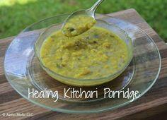 bowl of kitchari porridge