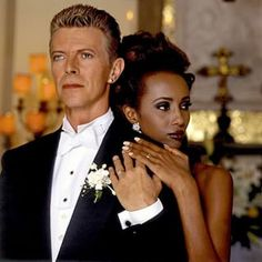 """""""Definitely I didn't want to get into a relationship with somebody like him,"""" Iman once told The Guardian of meeting her future husband. 